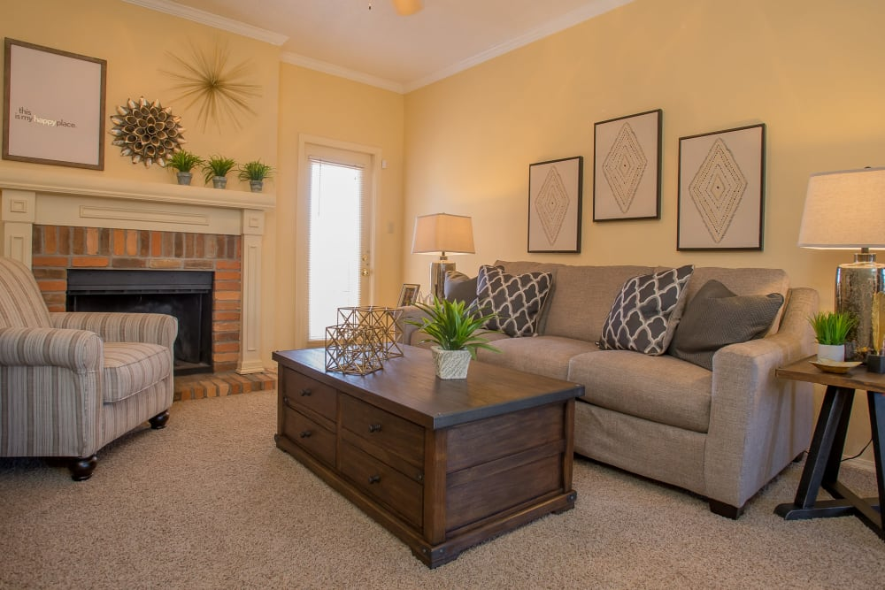 One Eton Square living room in Tulsa, Oklahoma