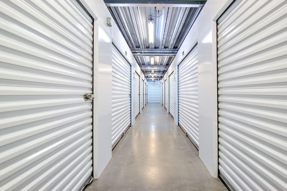 Interior units at Williamsburg Storage in Williamsburg, VA