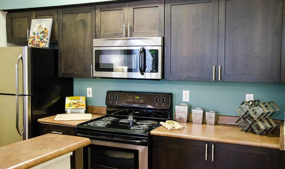 Spacious Kitchen at Wildreed Apartments