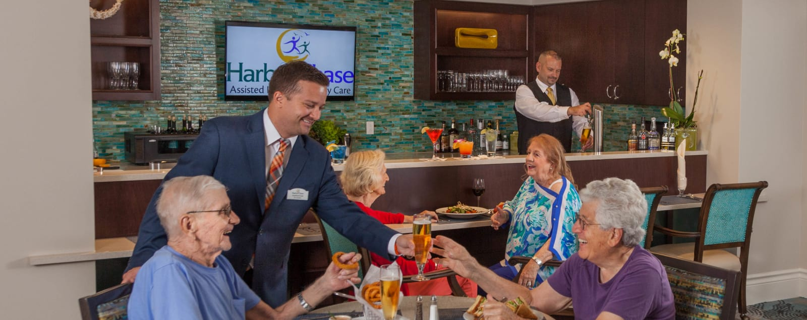 Learn more about HarborChase of Wellington Crossing hospitality.