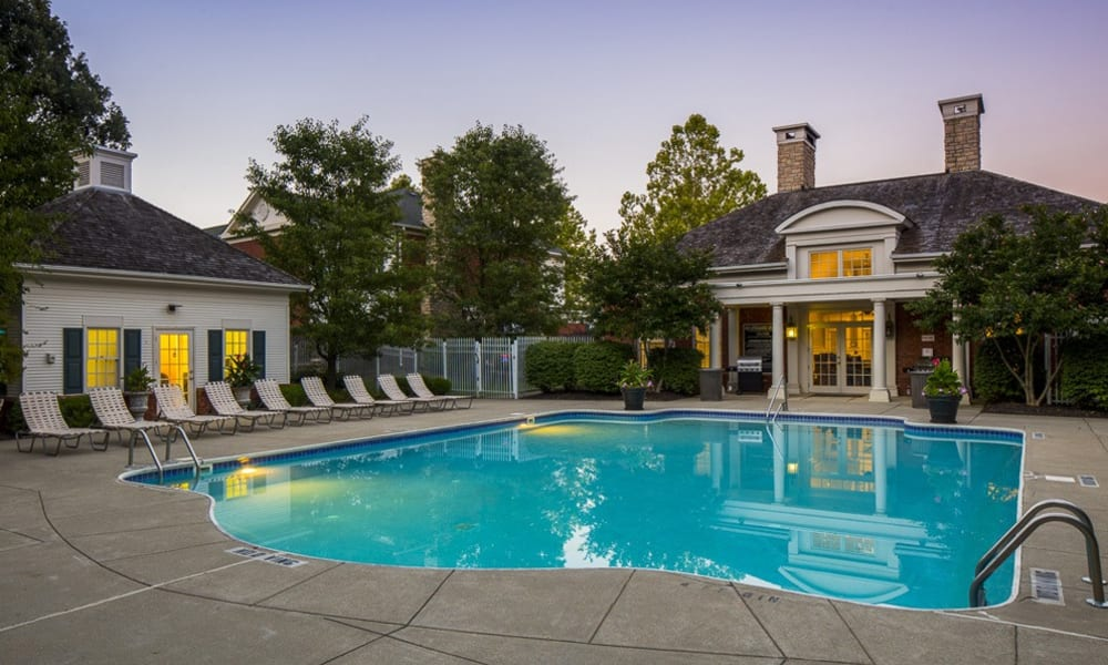 Swimming pool at The Woods at Polaris Parkway in Westerville