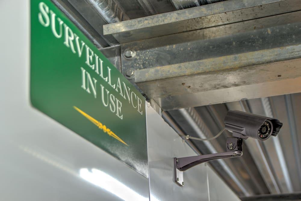 Security camera at Williamsburg Storage in Williamsburg, VA