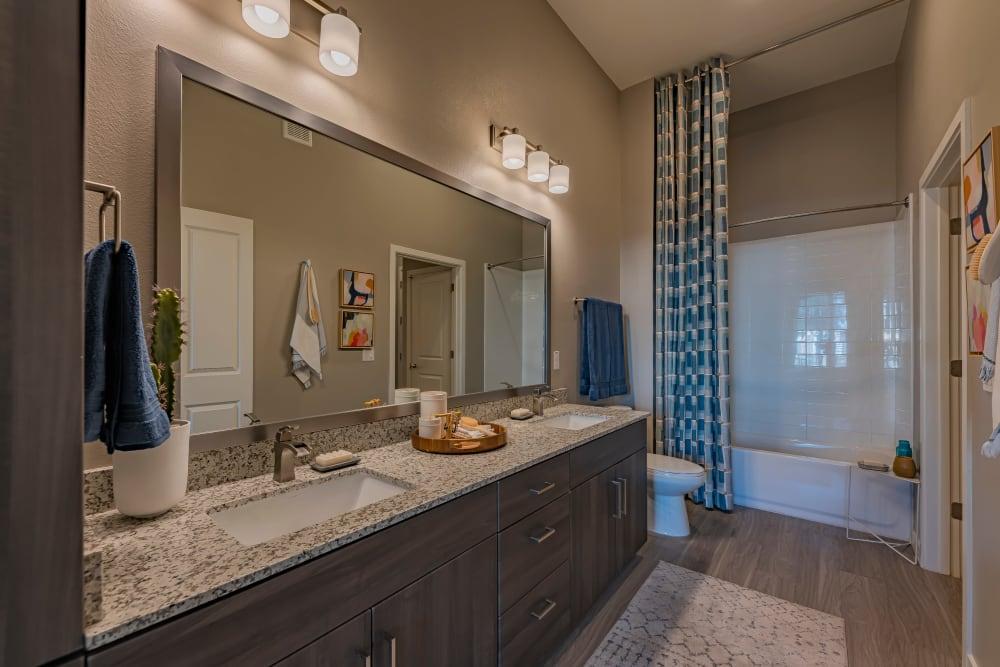 Spacious bathroom at Encore Tessera in Phoenix, Arizona