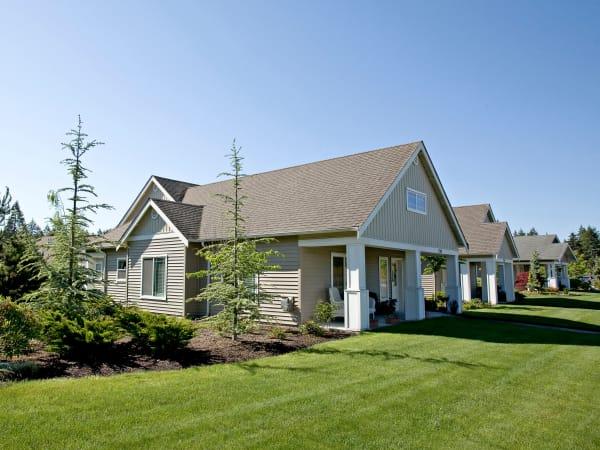A cottage at Patriots Landing in DuPont, Washington.