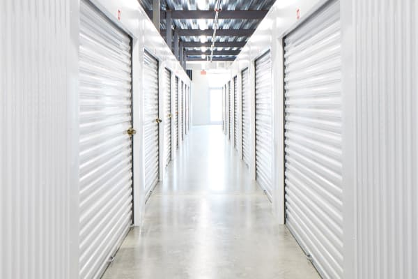 Indoor Climate-controlled units at Spacebox Storage Crestview in Crestview, Florida.