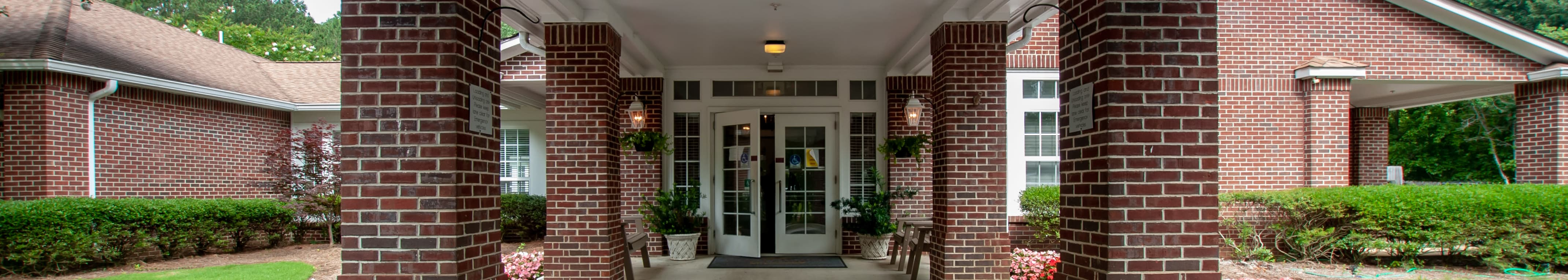 Senior living options at the senior living community in Hoover