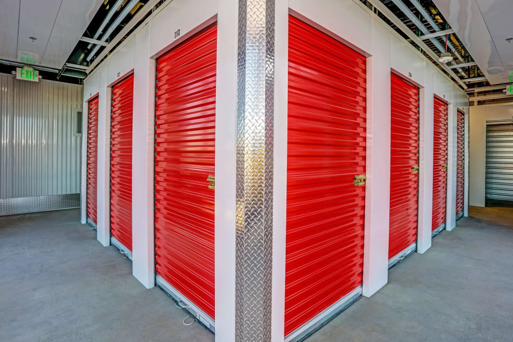 Our secure and clean self storage units