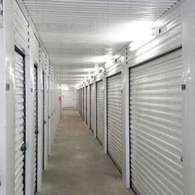 Climate-controlled units at Storage Star Tomball in Tomball, Texas