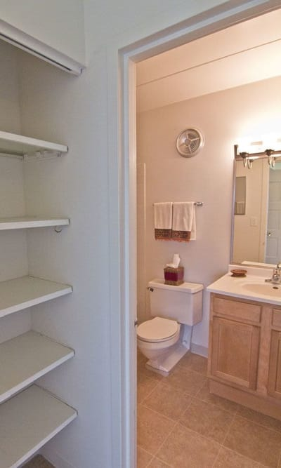 Park Towers Apartments in Richton Park, Illinois offers apartments with walk-in closets