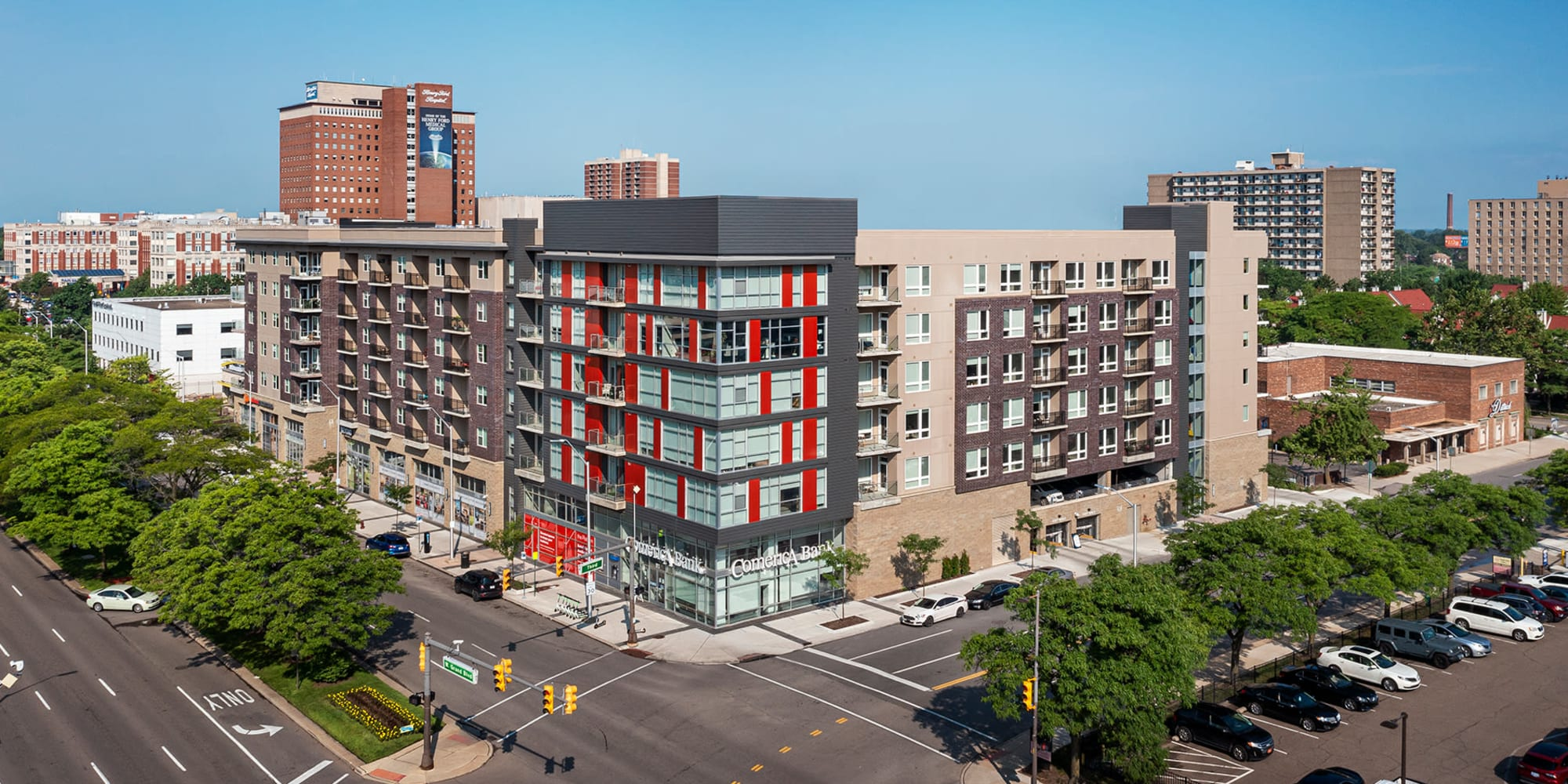 Apartments at The Boulevard in Detroit, Michigan
