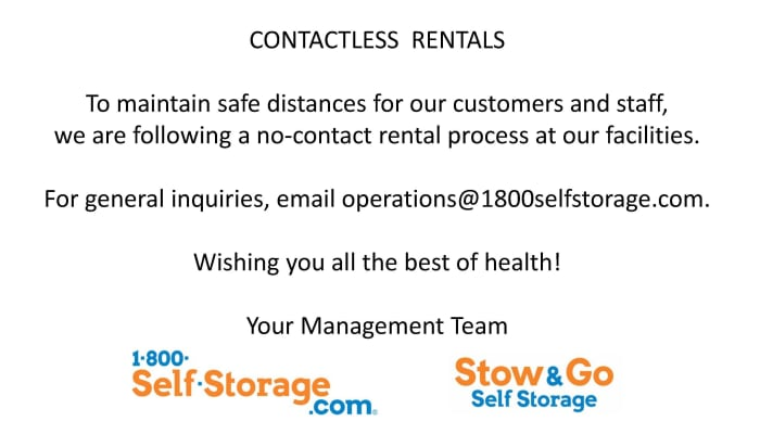 contactless rentals