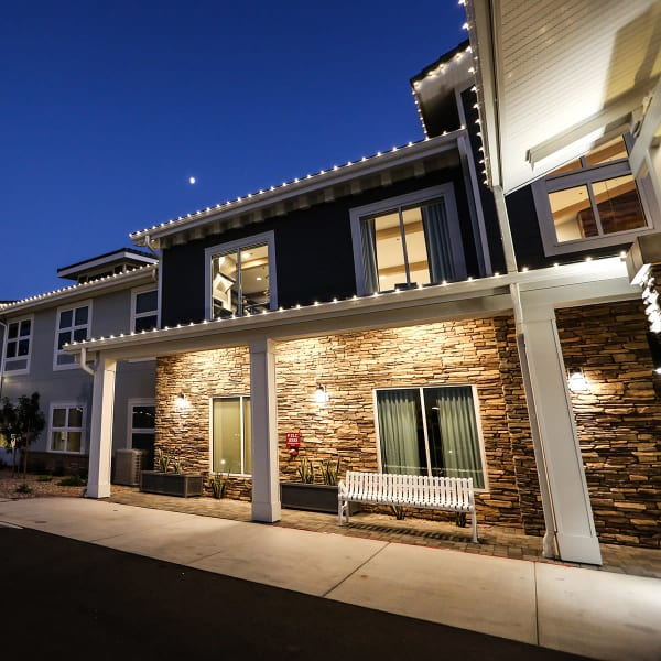 ground level homes at Quail Park at Morrison Ranch in Gilbert, Arizona