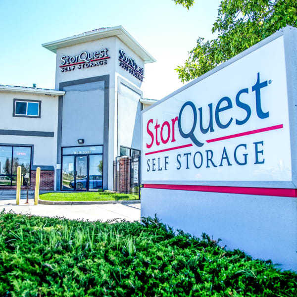 Exterior of StorQuest Self Storage in Aurora, Colorado