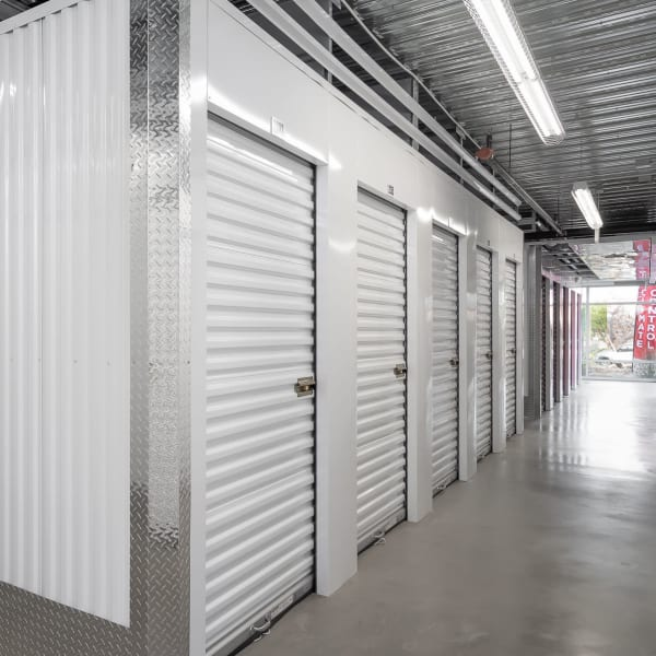 Climate controlled indoor units at StorQuest Self Storage in Sugar Land, Texas