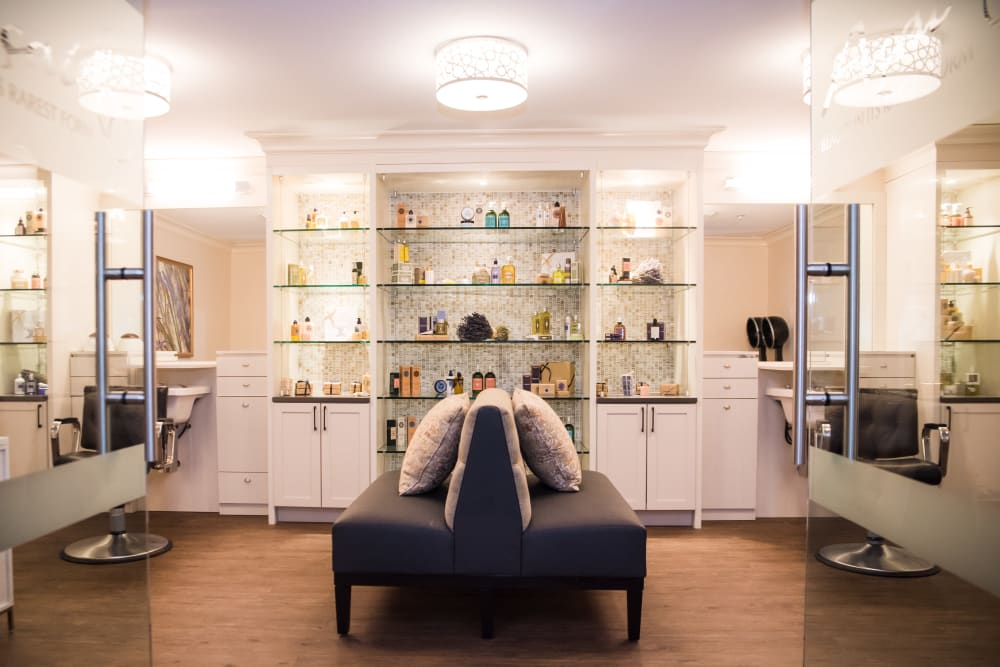 Spa and salon at Maplewood at Weston in Weston, Massachusetts