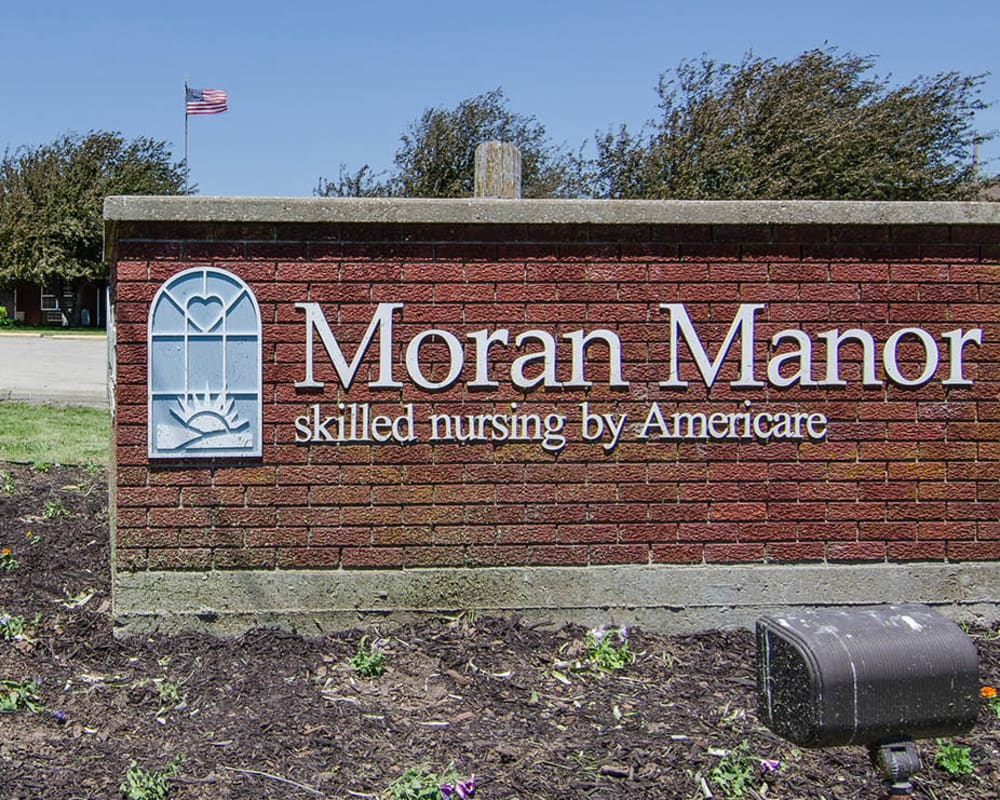 Skilled nursing building at Moran Manor in Moran, Kansas