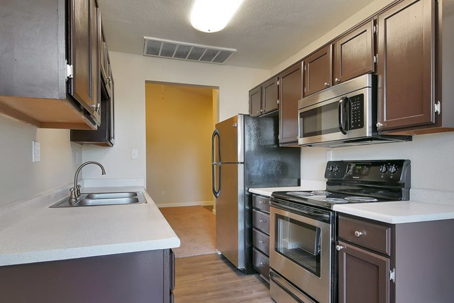 Kitchen at Renaissance Apartment Homes in Phoenix, Arizona