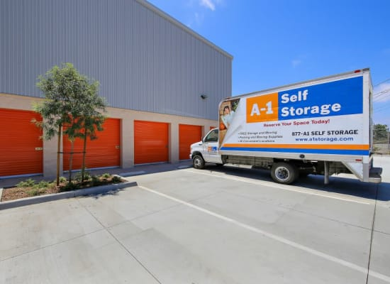 Moving truck available at A-1 Self Storage in National City, California
