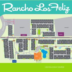 View our site plan at Rancho Los Feliz in Los Angeles, California