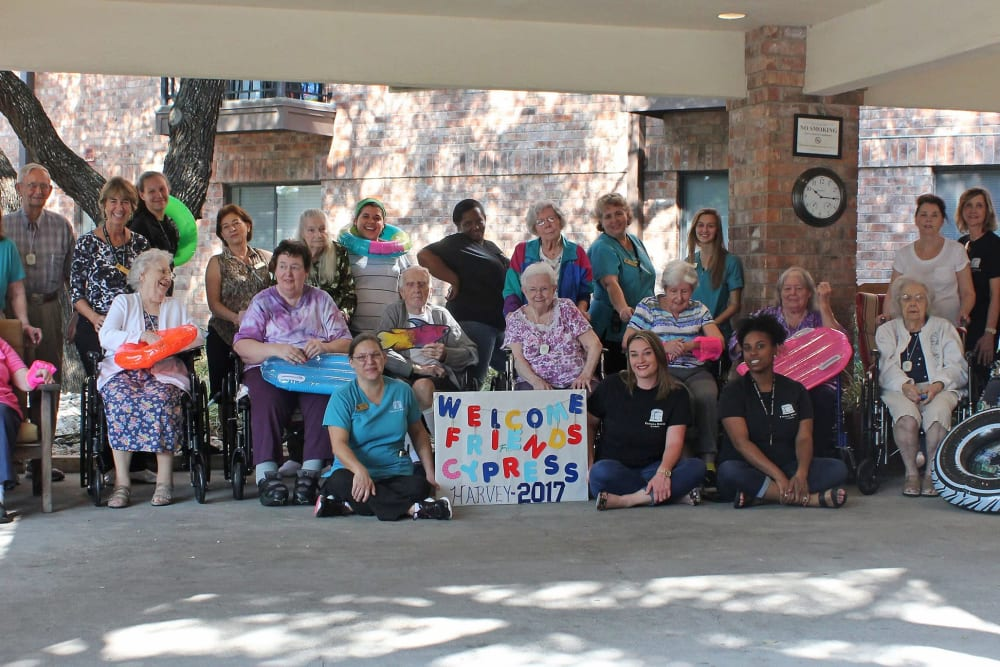 Harvey group at Parsons House Cypress in Cypress, Texas