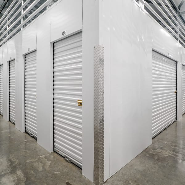 Climate controlled indoor storage units at StorQuest Self Storage in Santa Maria, California