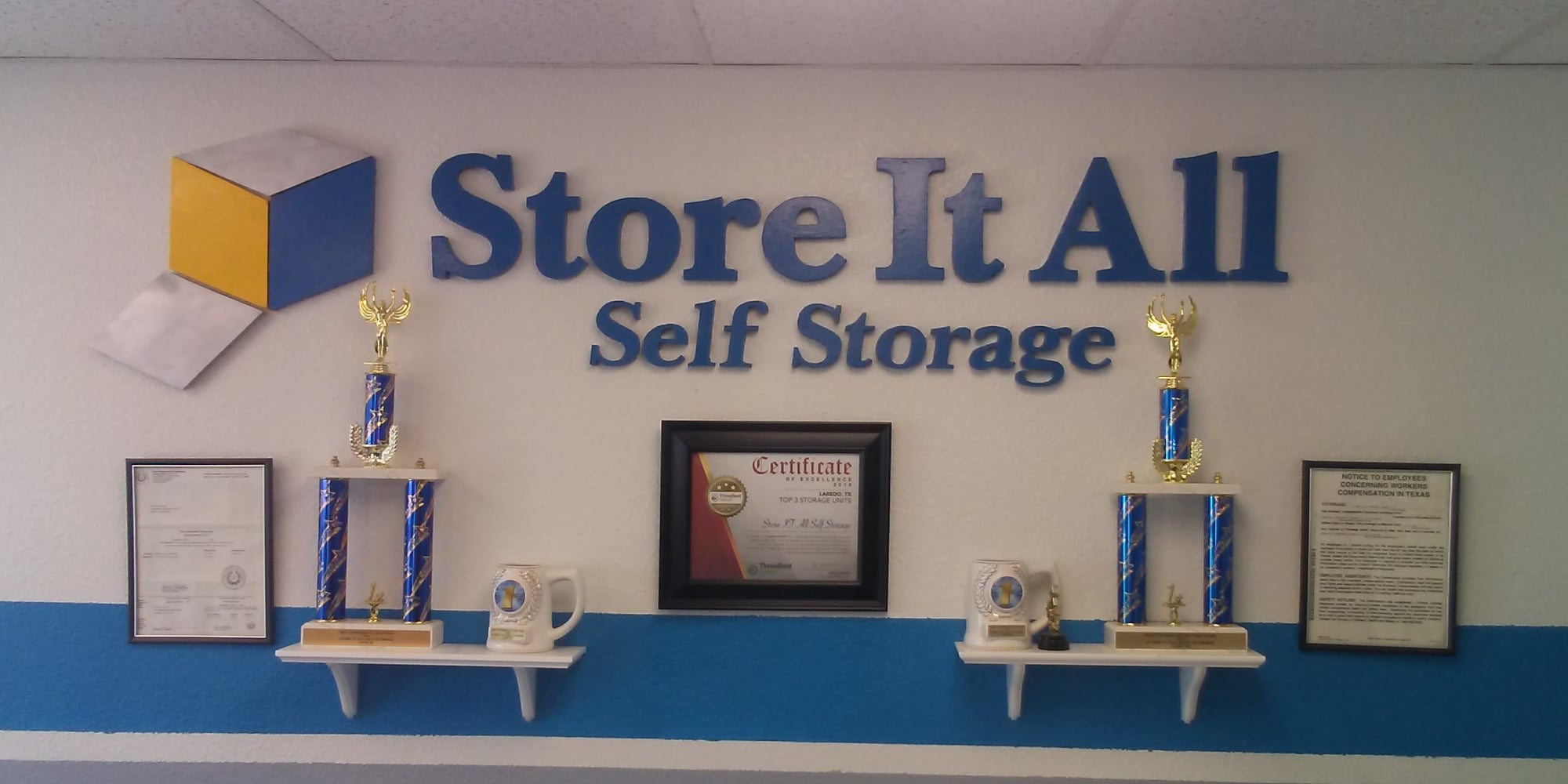 Self storage in Laredo TX