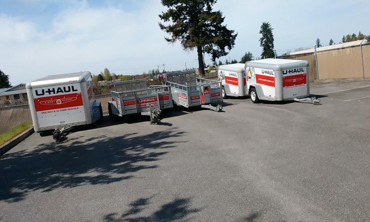 Glacier West Self Storage offers U-Haul rentals in Arlington, Washington