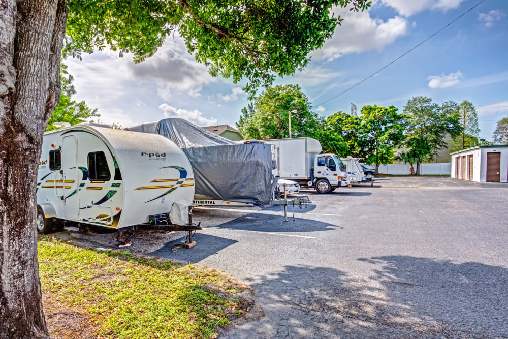 RV, boat storage at Metro Self Storage in Largo, Florida