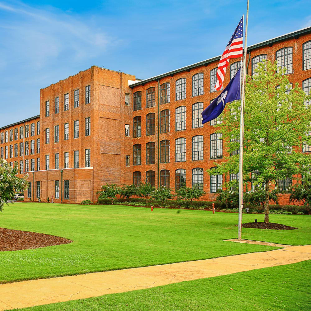 View the site for Lofts of Greenville apartments in Greenville, South Carolina