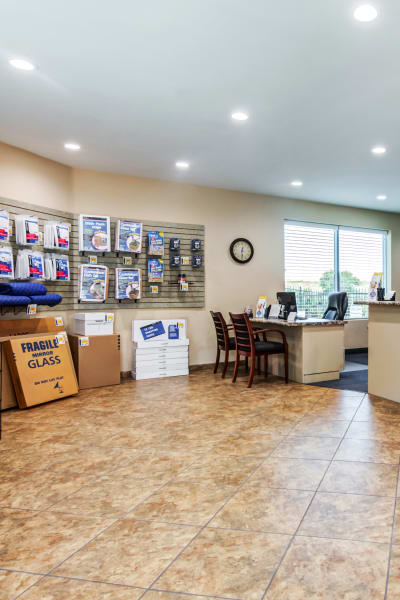 Packing and moving supplies available at Carlsbad Self Storage in Carlsbad, California