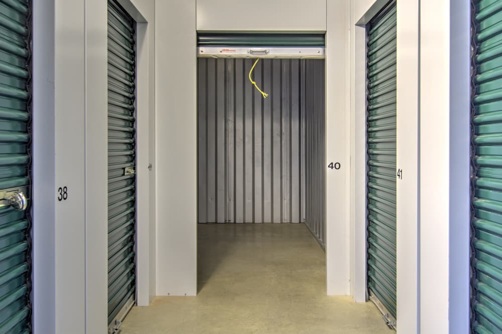 Indoor storage units  at Prime Storage in Richmond, VA