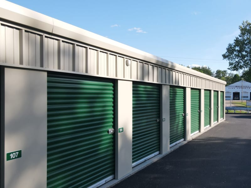 Units at 603 Storage - Belmont in Belmont, New Hampshire