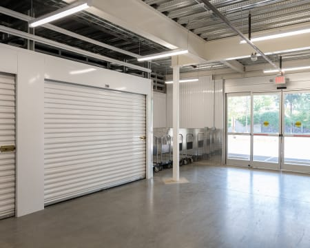 Indoor Storage Units at StorQuest Self Storage in Federal Way, Washington
