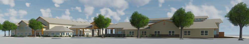 Pear Valley Senior Living rendering in Central Point