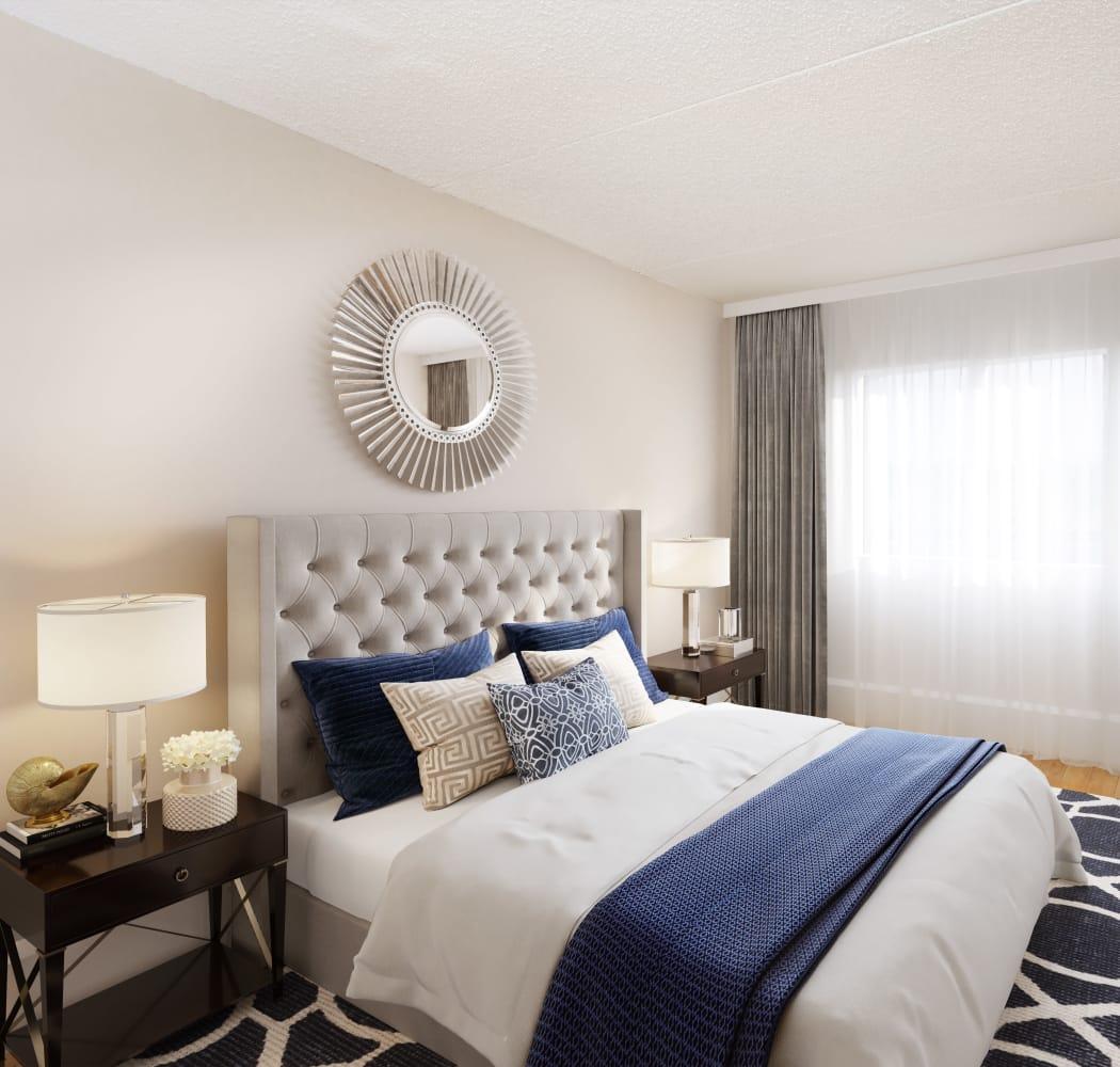 Bedroom at Royal View Apartments in Calgary