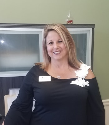 Wendy Weck, Executive Director at Garden Place Columbia in Columbia, Illinois.