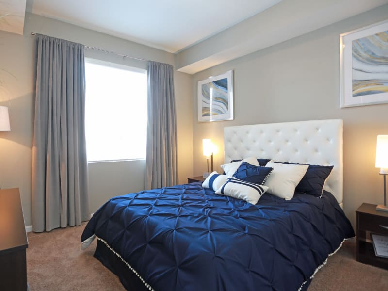 Bedroom at Apartments in Lakewood, Colorado