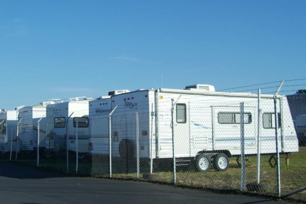 Rv and boat parking at U-Lock-It Self Storage in Vancouver, Washington