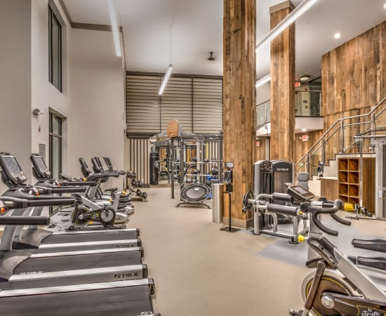 Alta at Jonquil offers a fitness center in Smyrna, Georgia