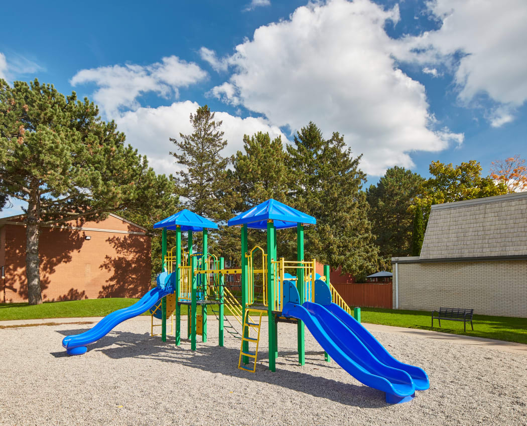 Playground at Georgian Court Estates in Burlington, Ontario
