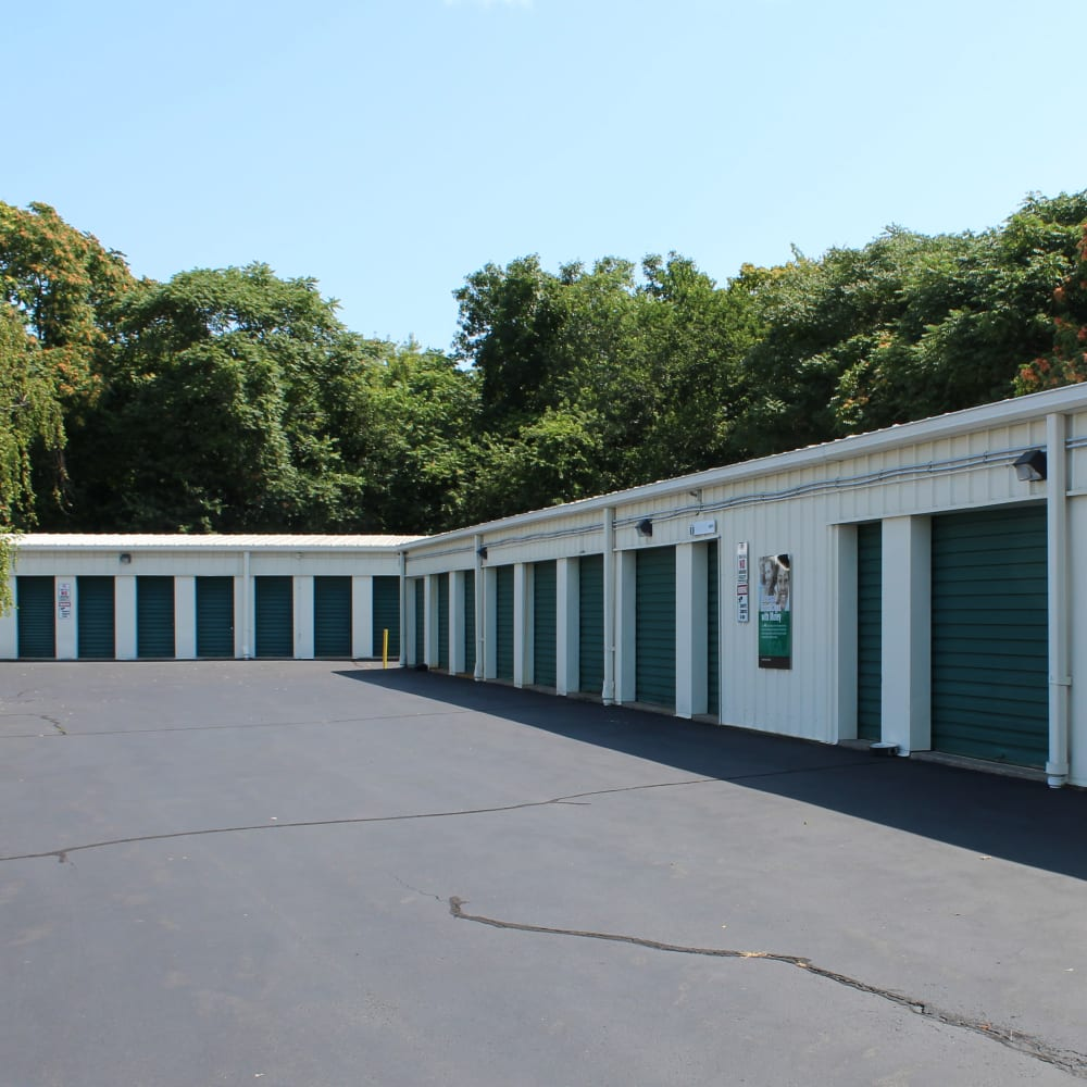 Climate Controlled units at Global Self Storage in Clinton, Connecticut