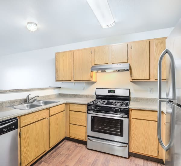 Beautiful Kitchen With Stainless Steel Appliances at Portola Del Sol