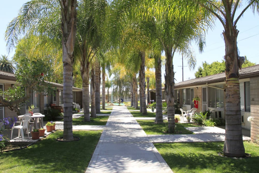 Cottages at Monte Vista Village in Lemon Grove, California.