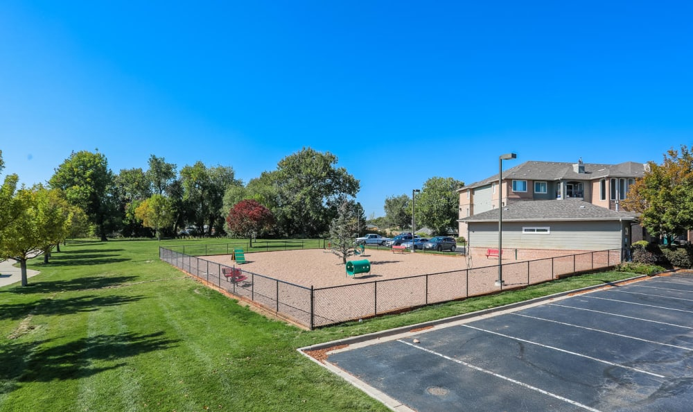 Dog Park At Hawthorne Hill Apartments