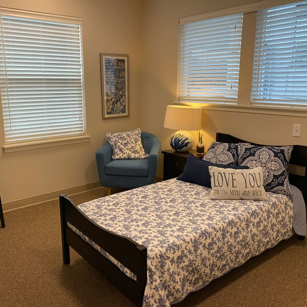 Well lit Studio apartment at Quail Park Memory Care Residences of West Seattle in Seattle, Washington