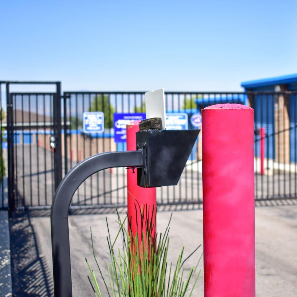 Keypad entry at STOR-N-LOCK Self Storage in Cottonwood Heights, Utah