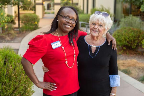 Friendly dining staff at Merrill Gardens senior living communities