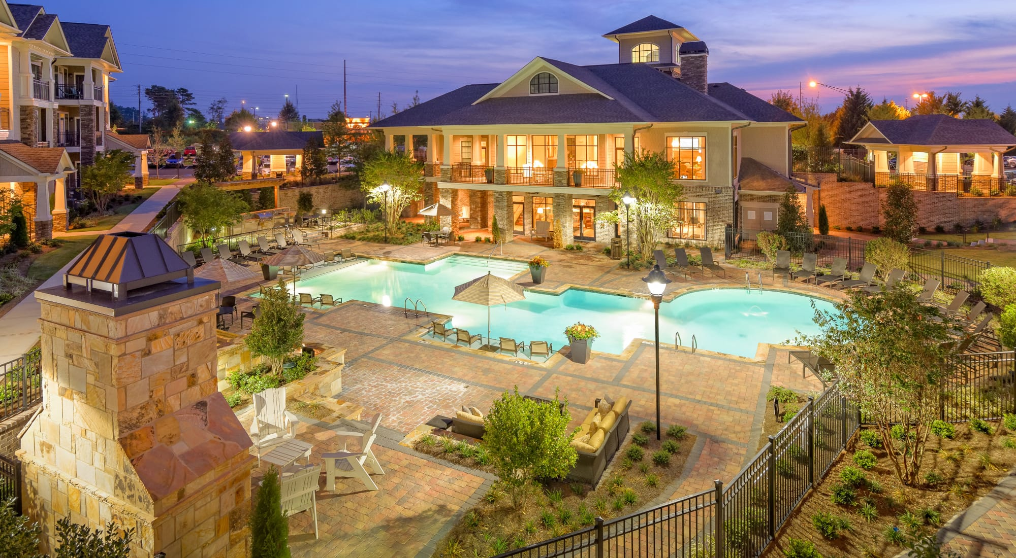 Apartments at The Heights at Old Peachtree in Suwanee, Georgia