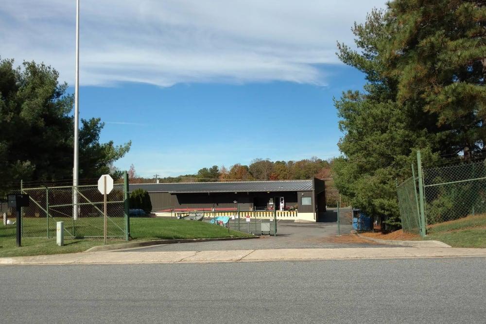 Entrance to Extra Attic Mini Storage - Patterson in Richmond, Virginia
