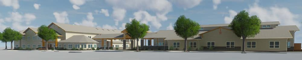 Rendering of Pear Valley Senior Living in Central Point